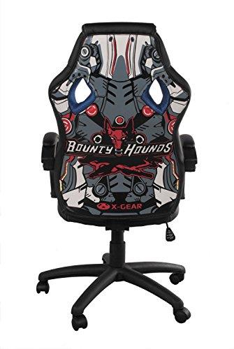 Alpisedia bureaustoel, polyurethaan, blauw/zwart, 69 x 63 x 120 cm