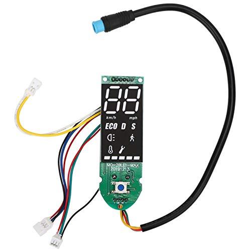 SALUTUYA Tablero portátil MAX‑G30 del tablero del circuito de la cubierta de la vespa Bluetooth del tablero de Bluetooth, para la vespa eléctrica