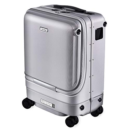 Airwheel SR5 Auto Following Smart Luggage Smart Suitcase Kids Suitcase (Silvery)