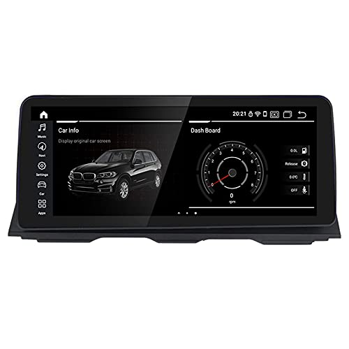 """WYZXR Car Multimedia Player Android 12.3"""" Full Touch Screen Car GPS Radio for BMW 5 Series F10 F11 2010-2016 Built in Carplay Support Split Screen GPS Navigation/CD DSP Multimedia/BT SWC WiFi"""