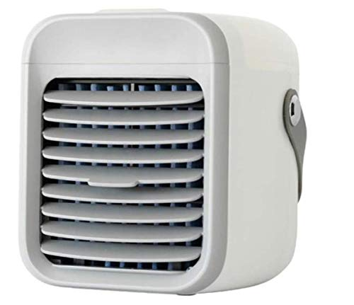UMBRANDED Blaux Portable AC - Personal mini air conditioner with handle, USB 2000 mAh rechargeable battery, 3-speed portable air purifier for home, office, room - fast cooling in just 30 seconds