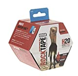 RockTape H2O Edge Highly Water-Resistant Kinesiology Tape with Travel Case