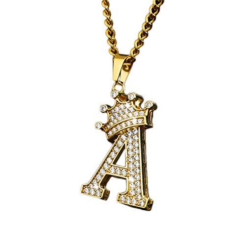 Personalized Letter Creative Pendant Necklace Custom Minimalist Titanium Necklace Birthday Graduation Valentine's Day Anniversary Jewelry Ideas(45cm Style-5)