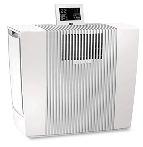 Venta 2065501 Luftreiniger LP60 Ultra für Allergiker mit Feinstaubsensor und Partikelanzeige (bis zu 75 qm), Weiß
