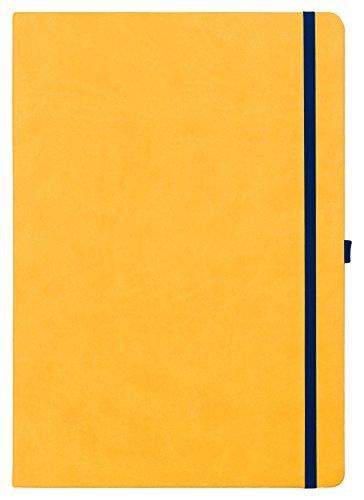 Legami Maxi Notizbuch liniert–Gelb