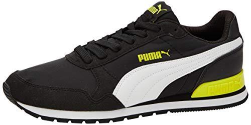 PUMA ST Runner V2 NL JR, Zapatillas Unisex niños, Negro Black White/Meadowlark, 39 EU