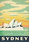 Tasi Poster für Reise, Vintage, Australien, Australien, 28