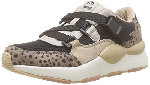 MTNG Attitude 69635, Zapatillas para Mujer, Multicolor (Guepardo Piedra/Negro C47421), 38 EU