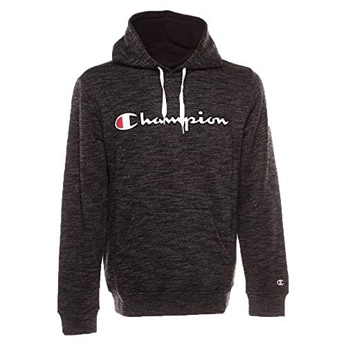 Champion Hooded Sweatshirt, Felpa Uomo, Grigio (Sbwm/Nbk Em517), X-Large