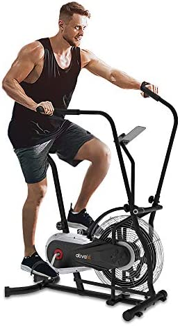 Ativafit Fan Bike Exercise Upright AirBike Indoor Cycling Fitness Bike Stationary Bicycle with product image