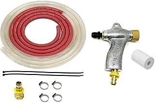 25 LBS Micron Range Blastline M-4 Glass Beads//Aluminum Oxide Mix Blast Media 106 to 212 Nominal Dia
