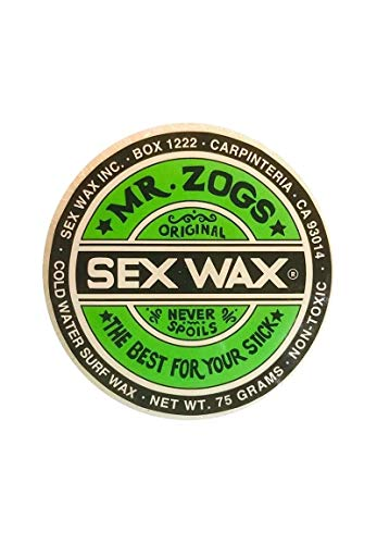 SEX WAX MR. ZOGS Cold Sex Wax Original Surfwachs Green