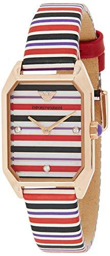 Emporio Armani Reloj Analógico para Mujer de Cuarzo AR11301