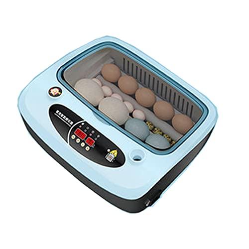 TANGIST Incubadora de Huevos con Volteo Y Eclosión Automáticos Incubadora Automática de Huevos para 6-36 Huevos de Huevos para Incubar Ventilación Giratorio para Aves, Codorniz, Pato