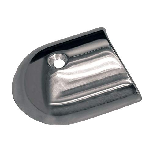 1.875 in. Rub Rail End Cap - Stainless Steel - TACO Metals F16-0039