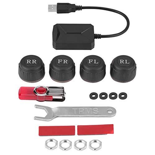 Sensores externos del sistema TPMS del monitor de la presión de neumáticos del USB para la exhibición de la navegación del coche de Android