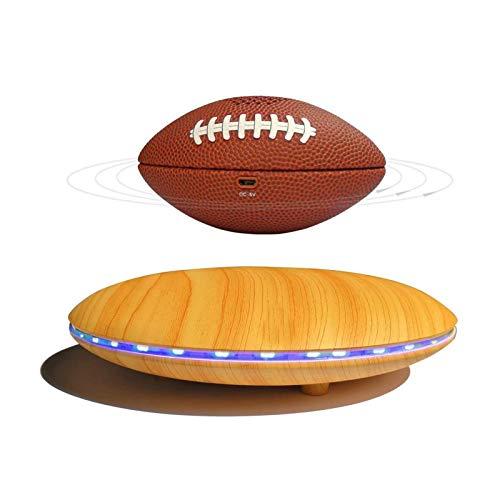 FGVDJ Rugby Schwimm Bluetooth Lautsprecher Smart Kompatible Levitating Wireless Speaker, 360 ° Rotation, Geeignet für Home Office Schreibtisch Dekor-Geschenk
