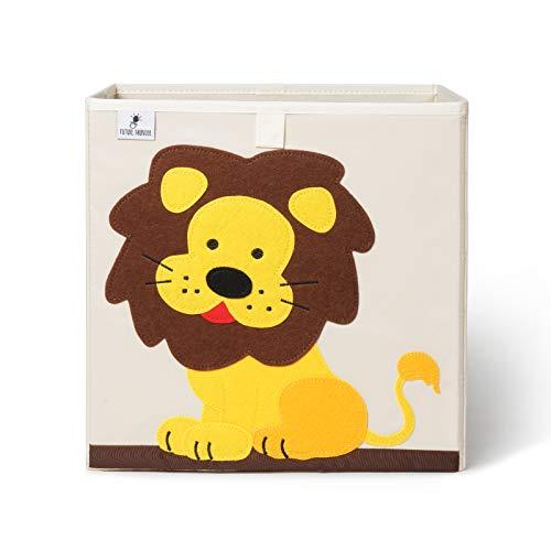 Aufbewahrungsbox Kinder I Spielzeugbox für Kinderzimmer (33x33x33) zur Aufbewahrung im Kallax Regal I Faltbox Aufbewahrungskorb Kinder Spielzeug aufbewahrung