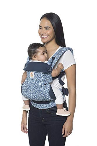 Ergobaby 360 All-Position Baby Carrier with Lumbar Support (12-45 Pounds), Batik