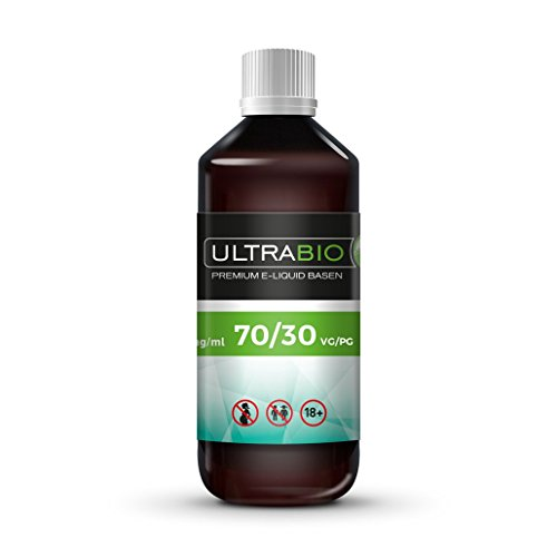 Ultrabio® e Liquid Basis 1000 ml ohne Nikotin Base 30%PG / 70%VG