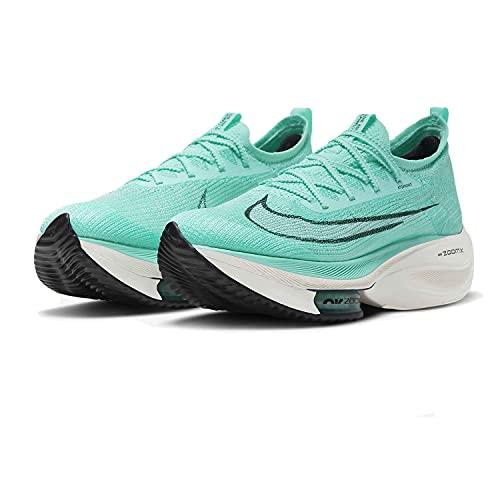 Nike Air Zoom ALPHAFLY Next%, Scarpe da Corsa Uomo, Hyper Turq/White-Black-Oracle Aqua, 43 EU