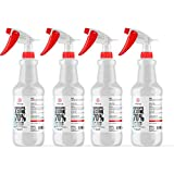 Alliance Chemical - Isopropyl Alcohol 70% USP Grade - 4 X 1 Quart Spray Bottle - Ultra High Purity Rubbing Alcohol - 4 X 32 Fluid Ounces