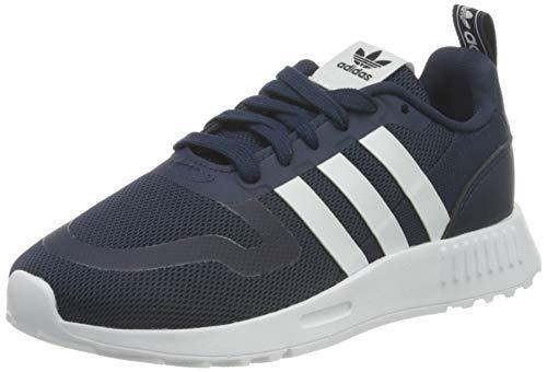adidas Smooth Runner C, Scarpe da Ginnastica, Collegiate Navy/Ftwr White/Dash Grey, 33 EU