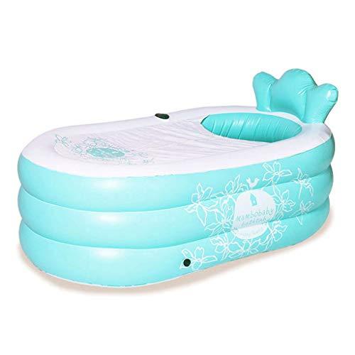 Piscina del patio trasero Bañera inflable adulto espesado lavabo bañera inflable portable baño de plegado barril del baño de barril del baño de barril sencilla barril del baño de mujeres embarazadas P