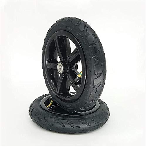 Neumáticos de scooter eléctricos, ruedas de neumáticos antideslizantes de 8 pulgadas 8x1 1/4, adecuados para neumáticos sólidos a prueba de explosiones y neumáticos neumáticos para cochecitos / scoote