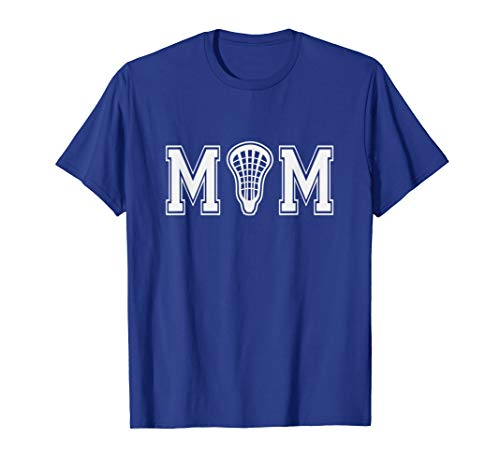 Lacrosse t-shirt for Mom with LAX Stick Head Gift for Her