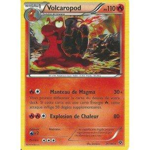 Tarjeta Pokémon 21/146 Volcaropod 110 PV serie XY New FR – Juego de cartas para jugar y coleccionar