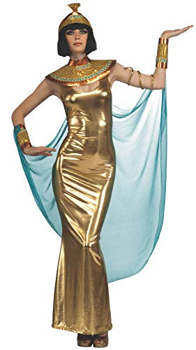 Rubie's Costume Deluxe Goddess Cleopatra Empress Of Egypt Costume, Gold, Standard