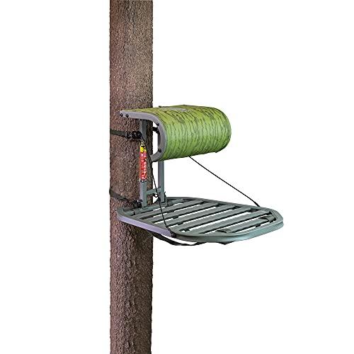 Summit Treestands Dual Axis Hang-On Treestand (SU82118), Camo