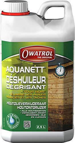Owatrol Aquanett déshuileur/Grauschleier-Entferner gélifie alle Holz 2,5L