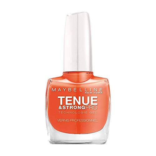 GEMEY MAYBELINE - Vernis à ongles - TENUE AND STRONG PRO - 460 COUTURE ORANGE