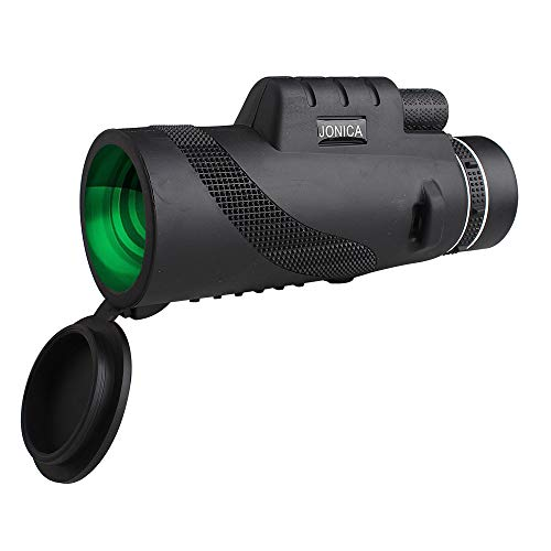 Best Optics UHD Explorer High Powered 12X50 BAK4 Prism FMC Monocular Telescope with Tripod – Bright & Clear. Single Hand focus. Waterproof. Fog-Proof. Bird Watching; Camping; Hiking; Hunting; Wildlife