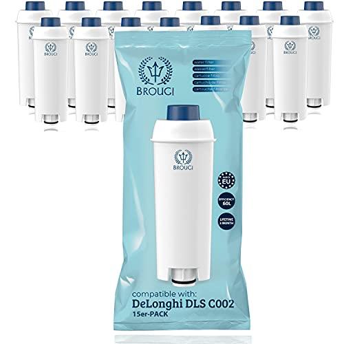 15 x Wasserfilter für Delonghi...