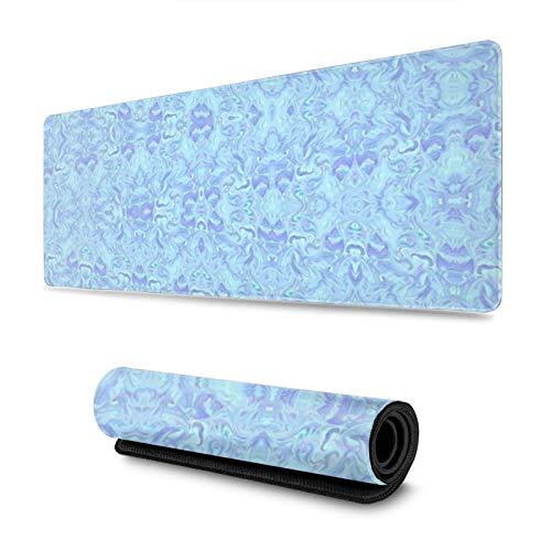 Mlc Millennial Calico - Alfombrilla para ratón (antideslizante, resistente al agua, 30 x 80 cm), color azul pastel