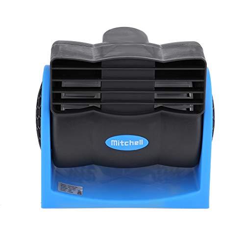 Fydun Automóvil Vehículo 12V Ventilador eléctrico Mini Velocidad Ajustable Ventilador de Aire silencioso Mini Circulador de Aire de enfriamiento automático con Enchufe para Encendedor de Cigarrillos
