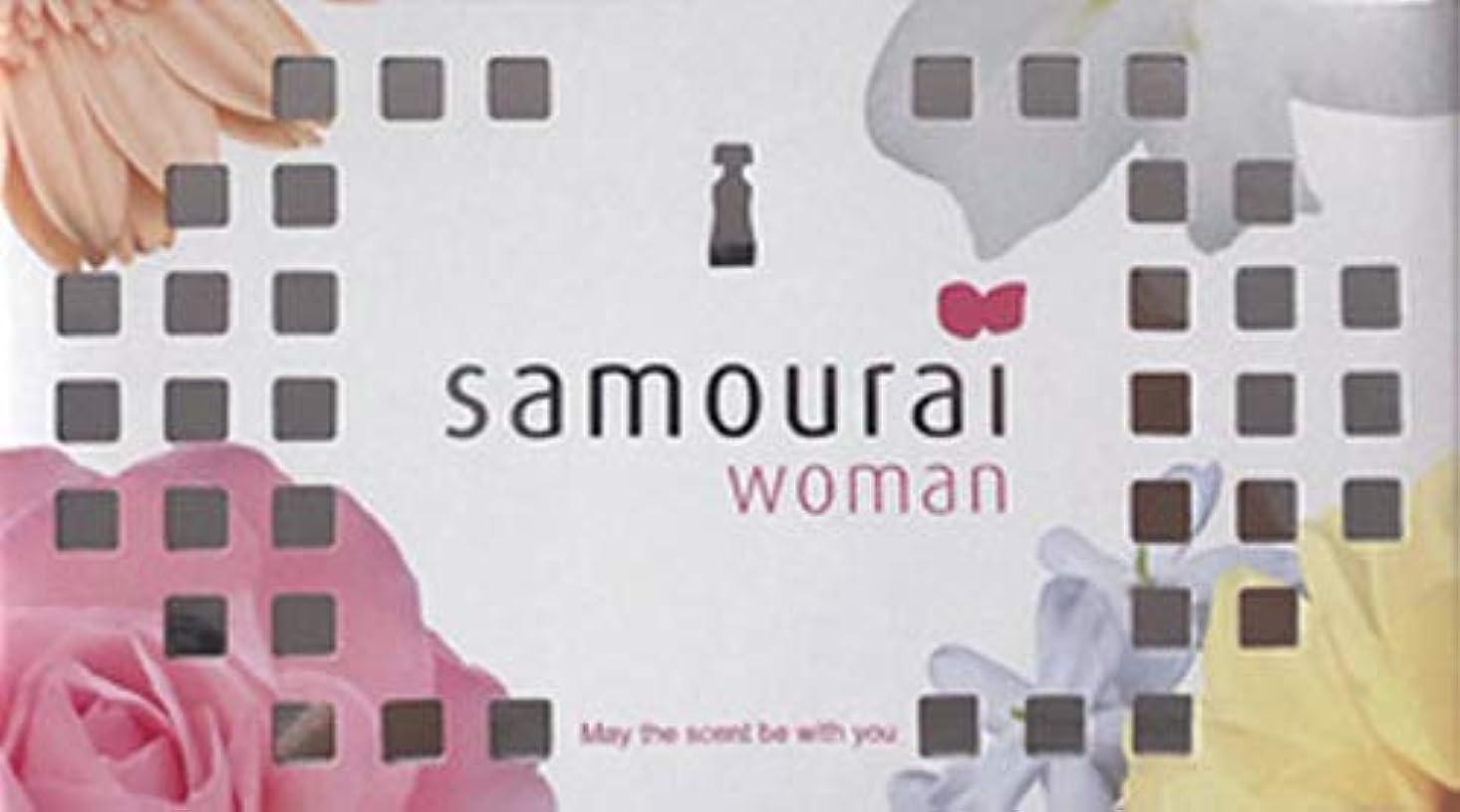 水っぽいしゃがむ水分Samourai woman(サムライウーマン) サムライウーマン フレグランス ボックス サムライウーマンの香り 170g