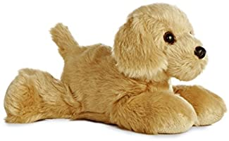 "Aurora - Mini Flopsie - 8"" Golden, Tan"