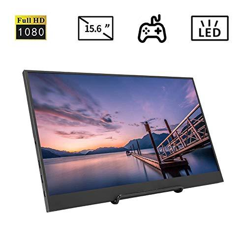 Tosuny 15,6 inch LED scherm Full HD 1920 * 1080, draagbaar scherm HDMI / PS3 / XBOX / PS4, geschikt voor games, kantoor, design etc.