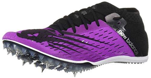 New Balance Women's Middle Distance 800 V6 Running Shoe, Voltage Violet/Black, 9 B US
