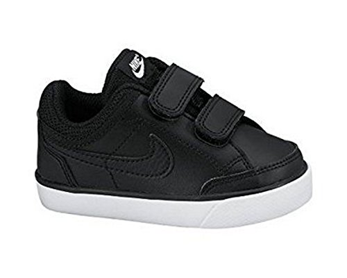 Nike Capri 3 Leather (TDV) 579949 014 Black/Black-White Baby (10c)