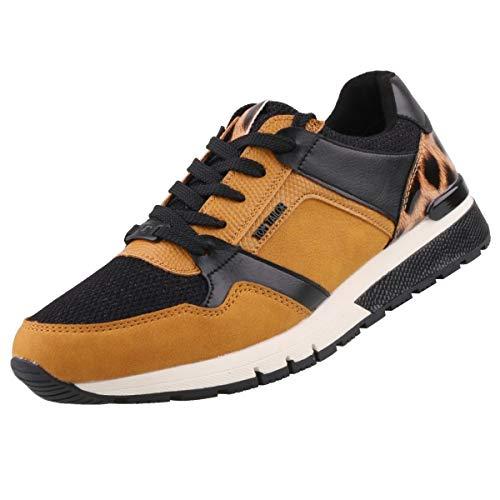 TOM TAILOR Damen 9091103 Sneaker, Curry, 42 EU