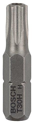 Bosch 2 608 522 014 - Pack de 2 puntas de atornillar T30H Security Torx, extra dura (T30H, 25 mm)