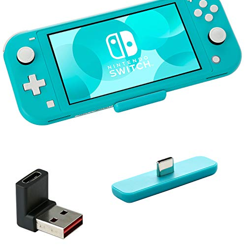 GuliKit Route Air Bluetooth Adapter for Nintendo Switch & Lite PS5 PC, Dual Stream Bluetooth Wireless Audio Transmitter with aptX Low Latency Connect Your Bluetooth Speakers Headphones - Blue