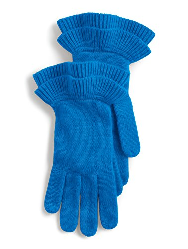 Talbots Ruffle-Edge Gloves