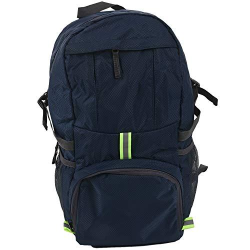 Fltaheroo Foldable Waterproof Backpack 35L Lightweight Portable Rucksack Outdoor Large Nylon Pack Trekking Bag for Camping Traveling Hiking