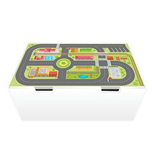 nikima Schönes für Kinder Spielfolie für STUVA Stadtleben (Möbel Nicht Inklusive)